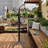 World Pride 4 Basket Arm Tree Cascade Hanging Patio Stand Garden Plant Patio New Planter